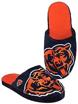 NFL Chicago Bears Men s Slip On Slippers Size Medium 9-10