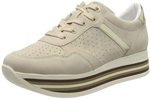 bugatti Damen 431880025559 Sneaker, Beige (Beige/Gold 5251), 36 EU