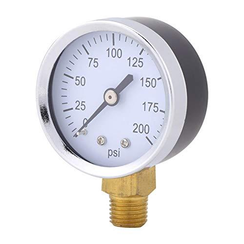 Medidor de presión de combustible, medidor de presión de aceite, montaje de rosca, montaje inferior, repuesto, mini para combustible para aceite