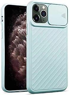 Fodral till iPhone X/XR kameraskal skyddande med glidkamera skal Stötfångare TPU mjukt gummi silikonskal telefonfodral Trå...