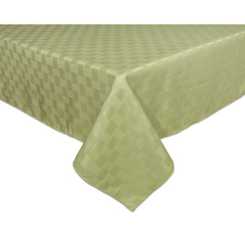 Bardwil Linens Reflections 60'x102' Oblong Tablecloth, Sage