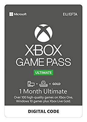 Xbox Game Pass Ultimate for Console | 1 Month Membership | Xbox One - Download Code
