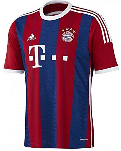 adidas Trikot FC Bayern München 2014-2015 Home (rot/blau, L)