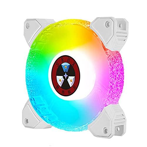 Caja del ordenador Ventilador Gaming Disipador de calor 6PIN ajustable 120mm RGB...