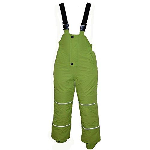 Outburst - Baby Jungen Skihose Schneehose Wasserdicht 10.000 mm Wassersäule, grün, Größe 98