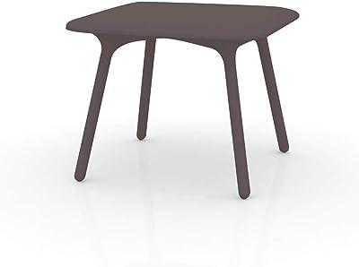 Vondom Sloo mesa de exterior 90x90 cm bronce: Amazon.es: Jardín