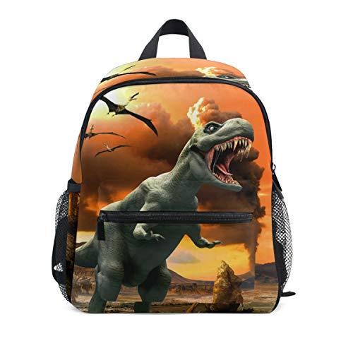 Dinosaurio Niños Mochila Cómodos Niños Niños School Bags Kindergarten Bolsa de Preescolar de Kindergarten 3-8 años de Escuela de Edad para niño (Color : 06)