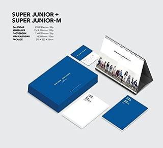 SUPER JUNIOR + SUPER JUNIOR M 2016 SEASON'S GREETINGS [28p Calendar + 192p Scheduler + 32p Photobook + Mini Calendar 12ea + Folded Poster]