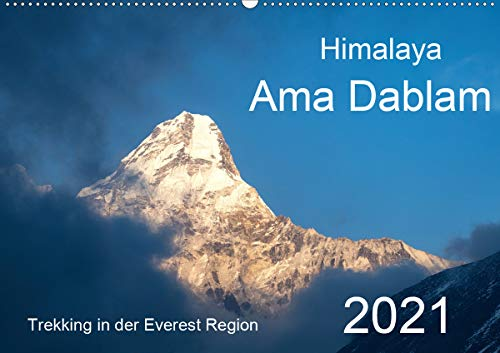 Himalaya Ama Dablam (Wandkalender 2021 DIN A2 quer)