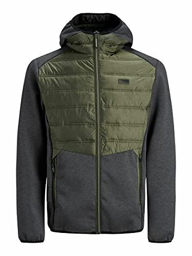 Jack & Jones Jcotoby Hybrid Jacket Noos, Noir, M Homme
