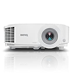 BenQ MH550 1080p Business Projector | DLP | Full HD 1920x1080 | 3500 Lumen Brightness | Upto 15,000 Lamp Life | Dual HDMI | VGA | in-Built Speaker | Keystone Correction | SmartEco Technology,BenQ,M353358