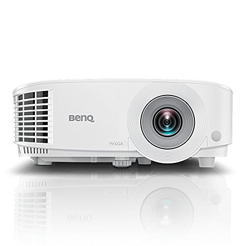 BenQ MH550 1080p Business Projector | DLP | Full HD 1920x1080 | 3500 Lumen Brightness | Upto 15,000 Lamp Life | Dual HDMI | VGA | in-Built Speaker | Keystone Correction | SmartEco Technology