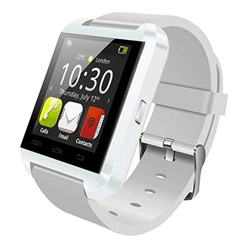 Blesiya U8 Sport Smart Watch Männer Smartwatch Bluetooth Sport Smart Watch Tragbares Gerät - Weiß