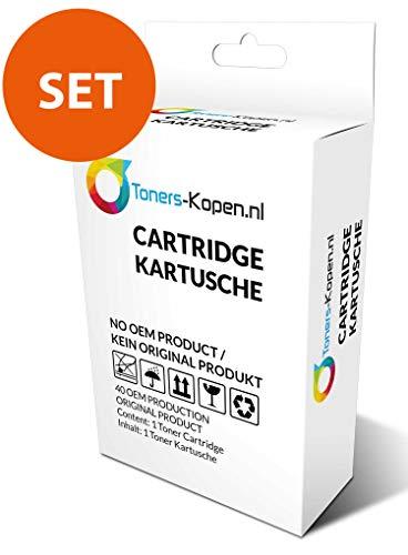 Set van 4x huismerk inkt cartridge voor HP 934XL 935XL Toners-kopen_nl