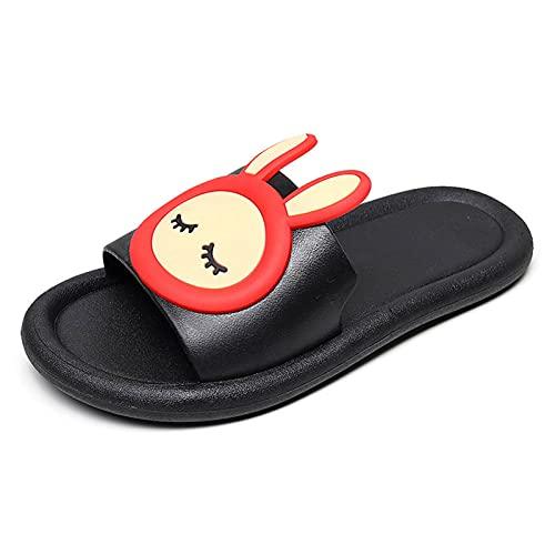 ZDERET Pantofole da Casa Coniglio Simpatico Cartone Animato Bagno Domestico Bagno Interno Sandali Antiscivolo Deodorante Pantofole Impermeabili Resistenti allo Sporco Infradito