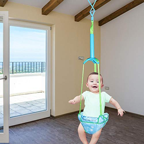 Doorway Jumper (Star Power) Baby Door Jumper Durable Portable Door Swing Bumper Jumper Exerciser, with Adjustable Strap, for Toddlers Infants 6 Months to 2 Years Old