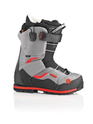 DeelLuxe Spark XV TF Botas de Snowboard, Gris, 26.5