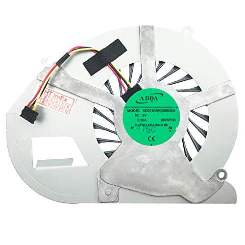 Lüfter Kühler Fan Cooler kompatibel für Sony VaiO SVF15N1L2ES, SVF15N1X2EB, SVF15NB1GM, VaiO SVF15N1Z2EB, SVF15N1S2ES, SVF15N1C5E,