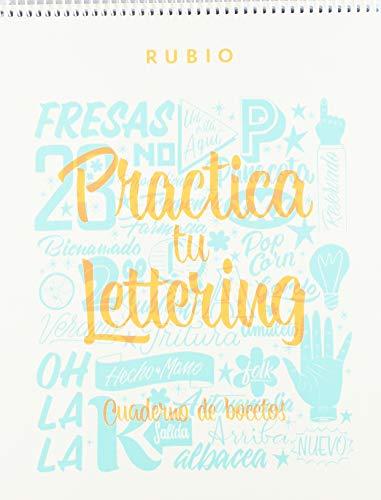 Cuaderno bocetos caligrafía