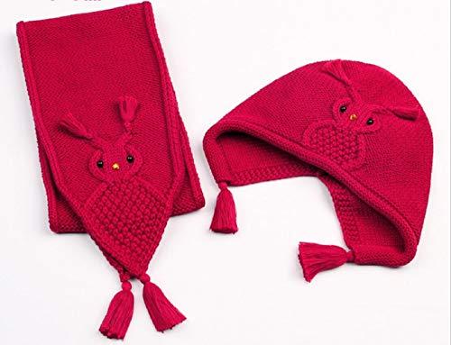 MXH Gebreide muts voor pasgeborenen meisje en jongen cartoon sjaal sjaal sjaal