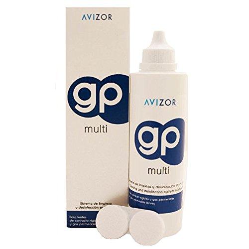 Solución Avizor GP Multi para lentes de contacto rígidas y permeables al gas. 240 ml
