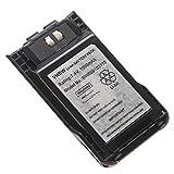 vhbw batería Compatible con Kenwood TK-3000K2, TK-3501, TK-U100, TH-K20, TH-K20E, TH-K40 Radio (1000mAh 7,4V Li-Ion) + Pinza