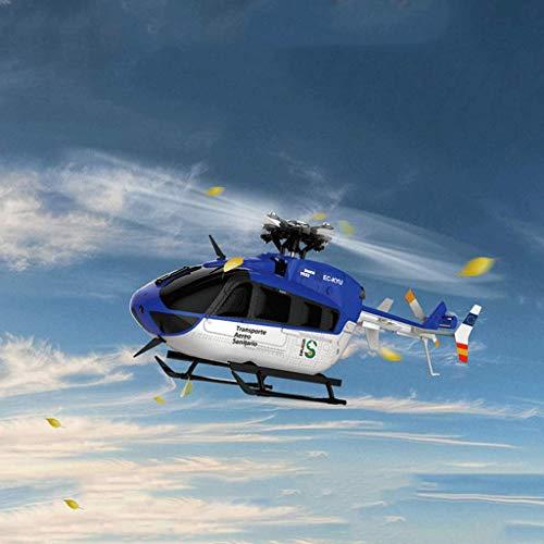 AXJJ Rc Helikopter RC Hubschrauber RTF 6CH Brushless 3D / 6G-Schaltsystem Großbild-Flüssigkristallanzeige