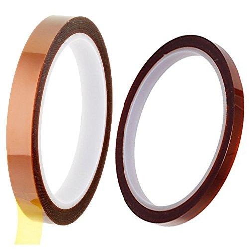 """30M PTFE Teflon Tape 2/""""x100ft thicker 662℉ High-temp Fiberglass adhesive Tape"""