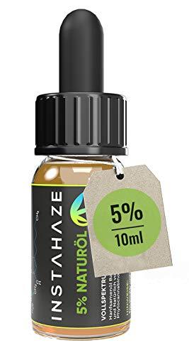 InstaHaze - 5 Prozent Naturöl   Laborgeprüft mit Zertifikat   Hanfsamenöl mit 5 Prozent Hanf - Aroma - Terpenen   Natürliche Inhaltsstoffe   100% Naturprodukt mit Omega 3 und 6 Fettsäuren…