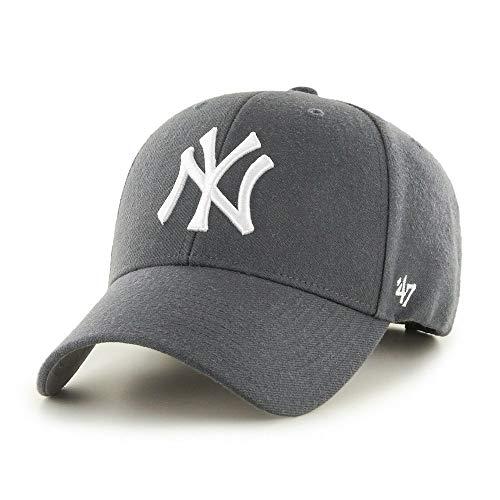 '47 New York Yankees Adjustable Cap MVP MLB Charcoal - One-Size
