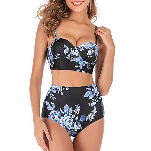 Traje De Baño Mujer Sexy Bañador de Baño Conjunto de Bikini Push up Tamaño Grande Color sólido Copa Dura Traje de baño Dos Piezas 2019 brasileño Bikinis para Playa riou