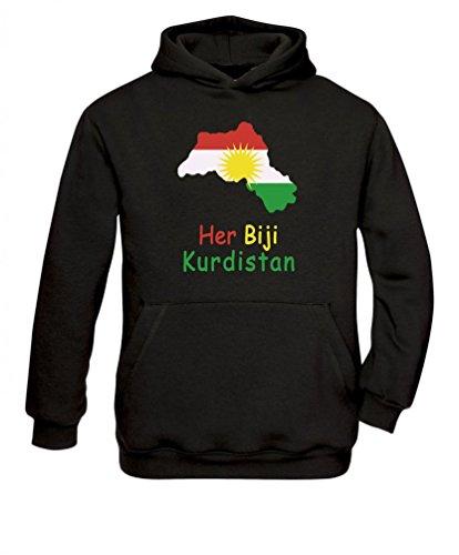 Senas-Shirts Her Biji Kurdistan Hoodie Kapuzenpullover (M)