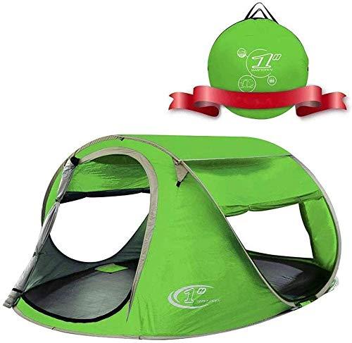 YAYY Pop Up Tent 3 4 Person Beach Cabana zonwering voor baby met UV-bescherming - Snelle en eenvoudige installatie Camping Tent (Upgrade)