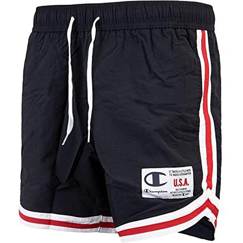 Champion Swimshorts Badeshorts (XL, Black, x_l)