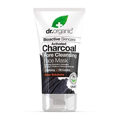 DR ORGANIC Maschera Viso Purificante al Carbone Attivo - 125 ml