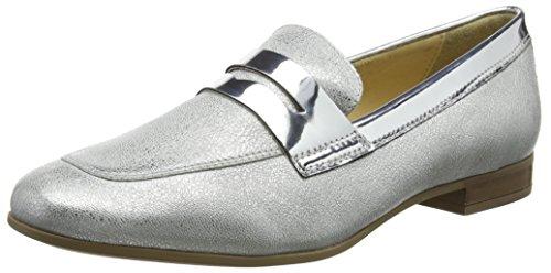 Geox Damen D MARLYNA B Slipper, Silber (Silver), 38 EU