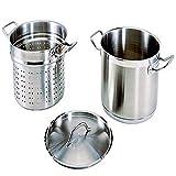 Update International SPSA-20 Paste Cooker, 20 Quart, Silver
