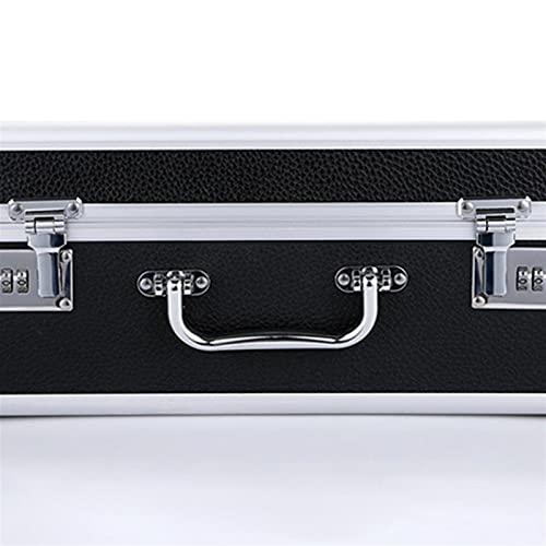 Accesorios de equipaje alto Barber Llevar Estuche de almacenamiento Caja de herramientas Retro Portátil Portátil Estilista Bolsa Password Lock Maleta Caja Pelo Estilizador Organizador Reemplazo perfec