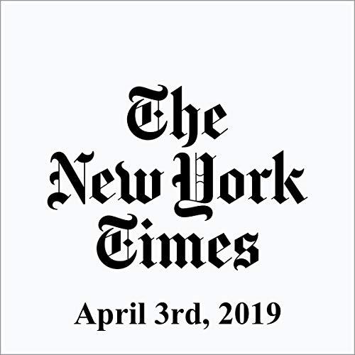 April 3, 2019 copertina