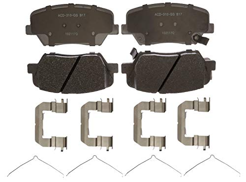 ACDelco Silver 14D1815CH Ceramic Front Disc Brake Pad Set