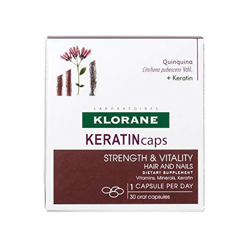 Klorane Keratincaps Fuerza Y Vitalidad Cabello Y Uñas 30caps