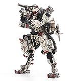 HiPlay JoyToy 1/18 Science-Fiction Robot Mecha Action Figures Full Set-Battle for The Stars Series-X-HLA01 Hurricane-Light Assault Dual Mode Mecha (White)