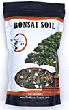 Bonsai Soil All Purpose Mix   Fast Draining Pre Blend Plant   Pumice, Lava, Calcined Clay and Pine Bark ● Potting Pre Mixed Bonsai Plant Soil Mixture by The Bonsai Supply (2 Quart Bag)