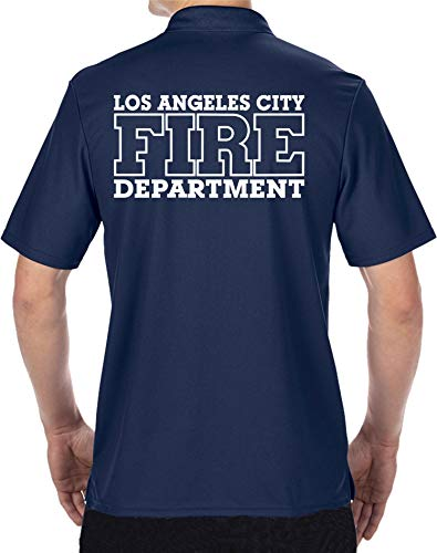 feuer1 Polo fonctionnel bleu marine Los Angeles City Fire Department XXL bleu marine