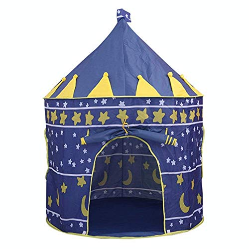 APcjerp Tent Indoor Garden Beach Summer Tent Camp Shelter Playset Portable Foldable Children Kids Game Play Tent Indoor Yurt Castle Hslywan