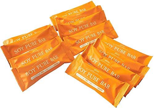 低糖質 ソイピュアバー 12本(プレーン)【糖質制限 砂糖不使用 グルテンフリー 低糖質お菓子】