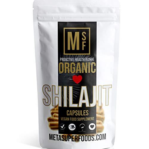 SHILAJIT | 60 Capsules | 2000mg | HIGH Potency | Premium Organic | Vegan | NO FILLERS NO Binders | Non GMO | Made in UK
