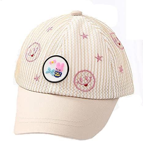Children's hat Boys Girls Breathable Peaked Cap Summer Sun hat Kids Baseball Sun Cap