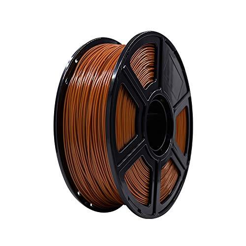 FLASHFORGE PLA 3D Printing Filament 1.75mm 1KG/Roll for Creator Series (Brown)