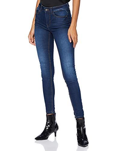 JdY Damen JDYNEWNIKKI Life REG SKN MD BL DNM NOOS Jeans, Medium Blue Denim, 34